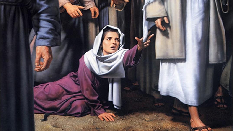 Женщина во время менструации и Вечеря Господня